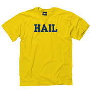 New Agenda University of Michigan Yellow HAIL Tee
