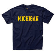 New Agenda University of Michigan Youth Navy Basic Tee