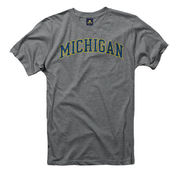 New Agenda University of Michigan Youth Gray Heather Tee
