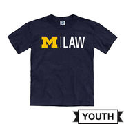 New Agenda University of Michigan Law School Youth Navy Tee