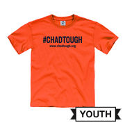 New Agenda #ChadTough Foundation Youth Orange Tee