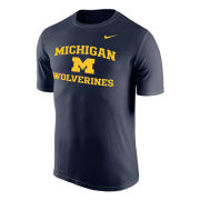 Nike University of Michigan Navy ''Name Drop'' Dri-FIT Legend Tee