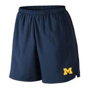 Nike University of Michigan Navy/Anthracite Challenger Dri-FIT Shorts