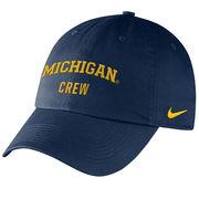 Nike University of Michigan Crew Navy Sport Hat
