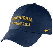 Nike University of Michigan Gymnastics Navy Sport Hat