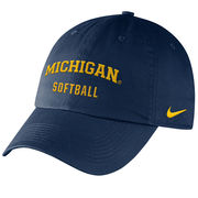 Nike University of Michigan Softball Navy Sport Hat