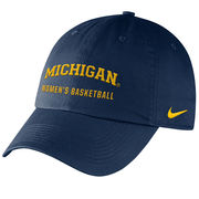 Nike University of Michigan Women's Basketball Navy Sport Hat