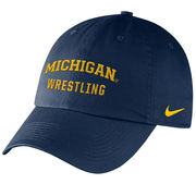 Nike University of Michigan Wrestling Navy Sport Hat
