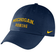 Nike University of Michigan Rowing Navy Sport Hat
