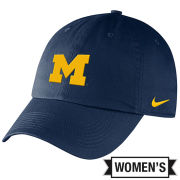 Nike University of Michigan Women's Navy Heritage86 Campus Slouch Hat