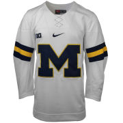 Nike University of Michigan Hockey White Replica Jersey