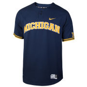 Nike University of Michigan Baseball Replica Navy Jersey