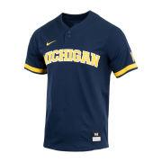 Nike University of Michigan Baseball Navy Replica Jersey