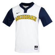 Nike University of Michigan Softball White/Navy Dri-FIT Replica Jersey