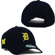 New Era University of Michigan & Detroit Tigers 9Forty Adjustable Hat