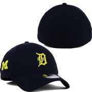 New Era University of Michigan & Detroit Tigers 39Thirty Stretch Fit Hat