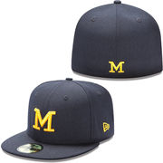 New Era University of Michigan 59Fifty Navy Fitted Hat