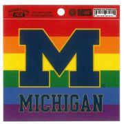 Neil Enterprises University of Michigan Rainbow Decal