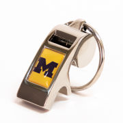 Neil Enterprises University of Michigan Whistle Keychain