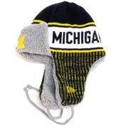New Era University of Michigan Trapper Knit Hat