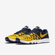 Nike University of Michigan Train Speed 4 Training Shoe