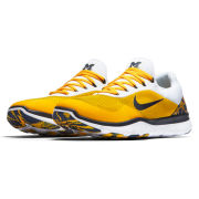 Nike University of Michigan Free Trainer V7 Week Zero Shoe