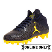 Jordan University of Michigan On-Field Cleats Mid Without Box