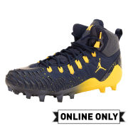 Jordan University of Michigan On-Field Cleats High-Top Without Box