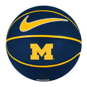 Nike University of Michigan Basketball Official Size Rubber Basketball