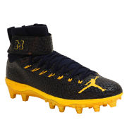 Jordan University of Michigan Football Team Issued Lunarbeast Elite TD Cleats