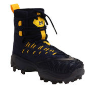 Jordan University of Michigan Football Team Issued Force Savage Elite Shark WD Cleats