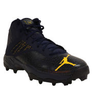 Jordan University of Michigan Football Team Issued ZM Code Elite 3/4 Shark Cleats