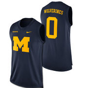Nike University of Michigan Navy Dri-FIT Mascot Tank Top