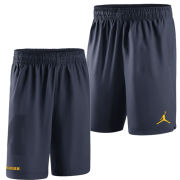 Jordan University of Michigan Basketball Navy Practice Short
