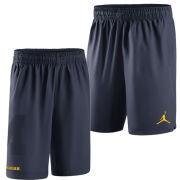 Jordan University of Michigan Basketball Navy Practice Short