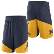 Jordan University of Michigan Navy/ Yellow Classics Dri-FIT Short