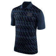Nike University of Michigan Navy Spring Stadium ''Ignite'' Dri-FIT Polo