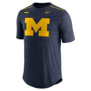 Nike University of Michigan Football Navy Players DNA Breathe Dri-FIT Top
