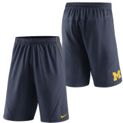 Nike University of Michigan Navy FLY XL 5.0 Dri-FIT Shorts