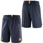 Jordan University of Michigan Football Navy 23 Tech Dry Knit Shorts
