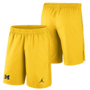 Jordan University of Michigan Football Maize 23 Alpha Dry Shorts