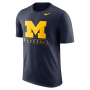 Nike University of Michigan Baseball Navy Dri-FIT Legend Team Issue Tee