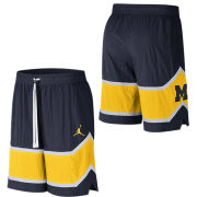 Jordan University of Michigan Basketball Throwback Nylon Shorts