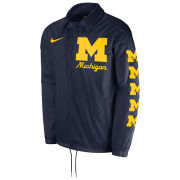 Nike University of Michigan Navy Shield Coaches Jacket