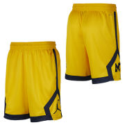 99592583354 Jordan University of Michigan Football Maize Knit Dri-FIT Shorts