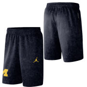 Jordan University of Michigan Basketball Navy Spotlight Warm-Up Shorts