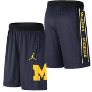 Jordan University of Michigan Navy Blocked Dri-FIT Performance Shorts