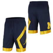 Jordan University of Michigan Navy Big Logo J Knit Shorts