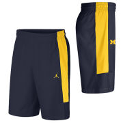 Jordan University of Michigan Football Navy J23 Alpha Dri-FIT Shorts