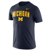 Nike University of Michigan Navy Snow Wash Tee